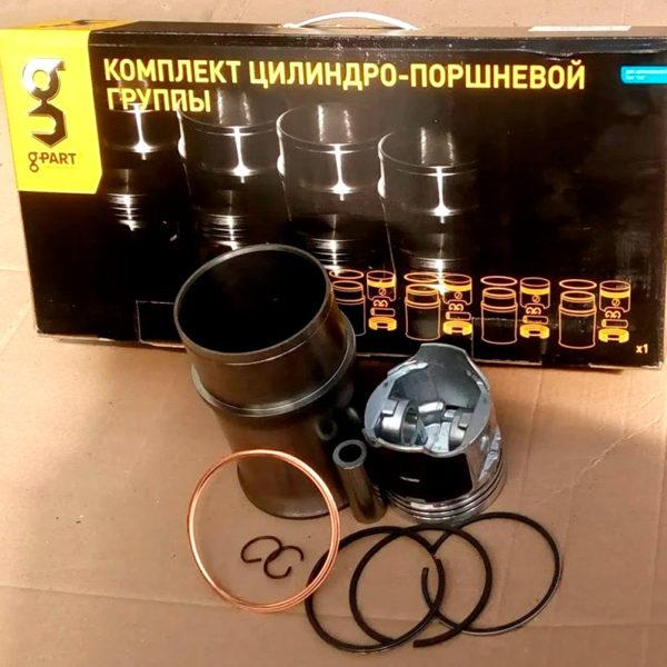 Поршневая группа с кольцами ЗМЗ-402, 4021, 4025 G-part (к-т на 4 цилиндра)
