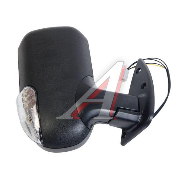 Зеркало ГАЗ-3302 черное с повторителем и обогревом