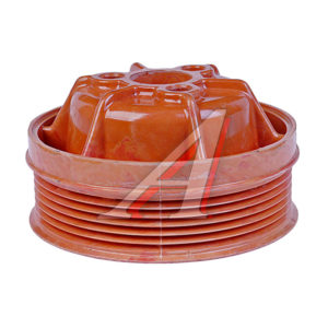 Шкив водяного насоса ГАЗ-3302 дв. 406 (рыжий)