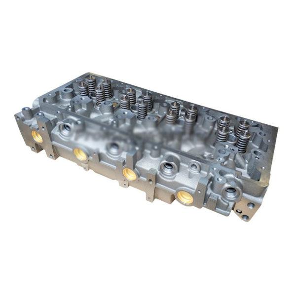 Головка блока цилиндров ЯМЗ-534 в сборе с клапанами
