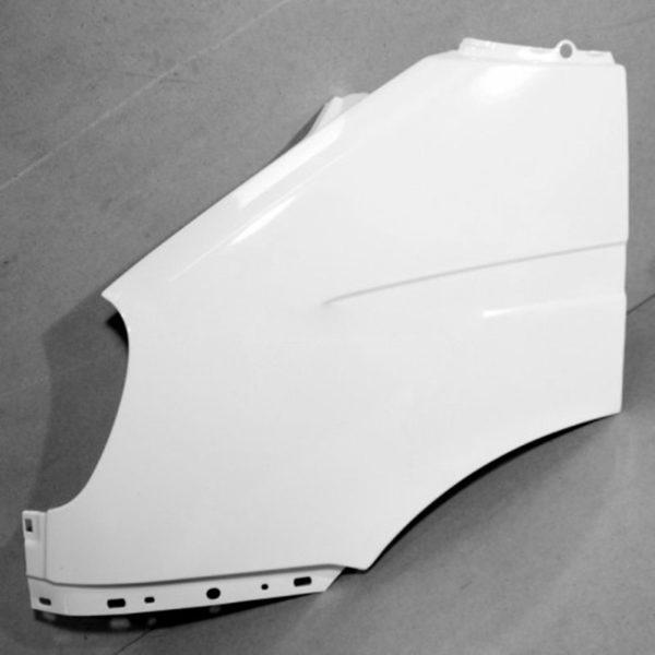 Крыло ГАЗ-3302 переднее левое н/обр пластик крашенное (бел.)
