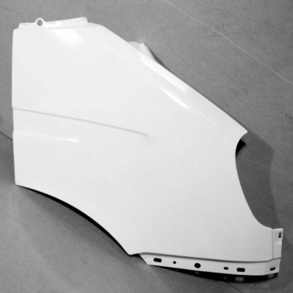 Крыло ГАЗ-3302 переднее правое н/обр пластик крашенное (бел.)