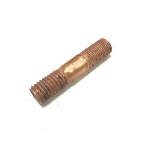 Шпилька М10х1х30 коллектора малая (картера сцепления) омедненная ЗМЗ-402