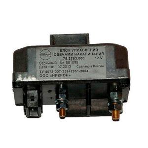 Блок управления свечами накаливания ЕВРО-3 ГАЗ-33104