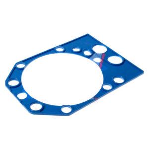 Прокладка головки блока металл ЯМЗ-8421 металл фторсиликон