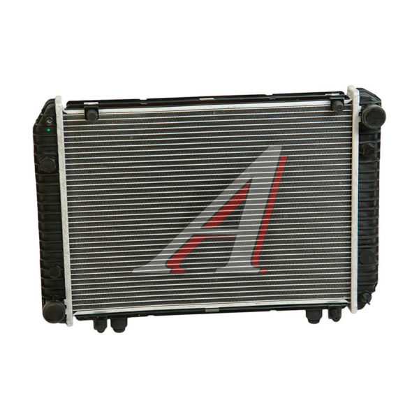 Радиатор ГАЗ-2217, 33021 алюминиевый 2-х рядный