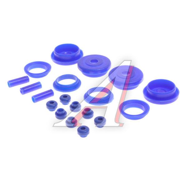 Комплект уплотнителей для ремонта головки дв. ЗМЗ-406 н/о силикон