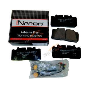Колодка торм. ГАЗон NEXT перед./задние ALLED NIPPON (РК с датчиком износа)