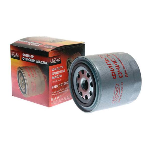 Фильтр масляный ГАЗ-3302 дв. 406, 405, 409 h=96 мм KENO