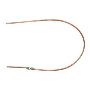 Трубка тормозная 80 см D=5 штуцера 8х10