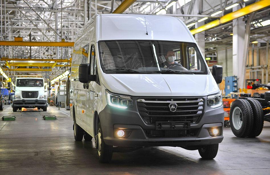 Горьковский завод выпустит электромобили без водителей